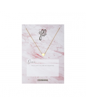 Necklace Love Heart