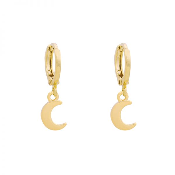Earrings Half-Moon