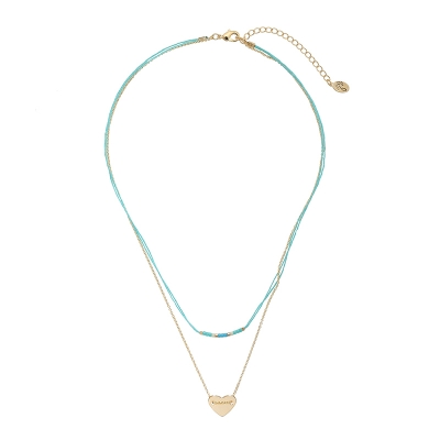 Necklace Love on String