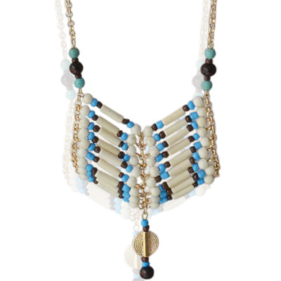 Necklace Indie -blue-