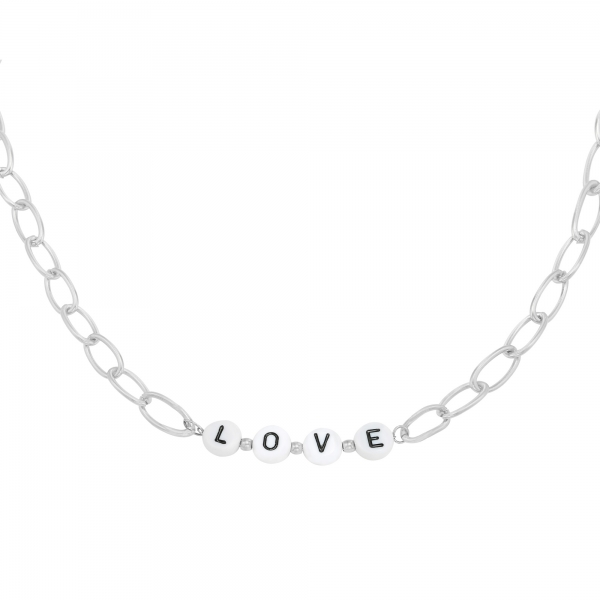 Collier Beads Love