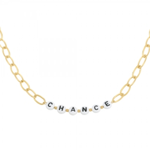 Necklace beads chance