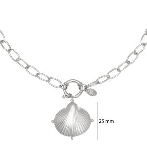 Necklace clam shell