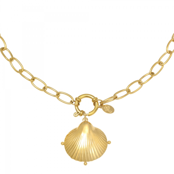 Collier Clam Shell