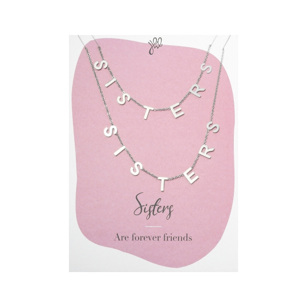Necklace Sisters Forever Friends