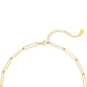 Collar plain chain