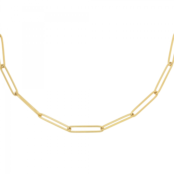 Collier plain chain