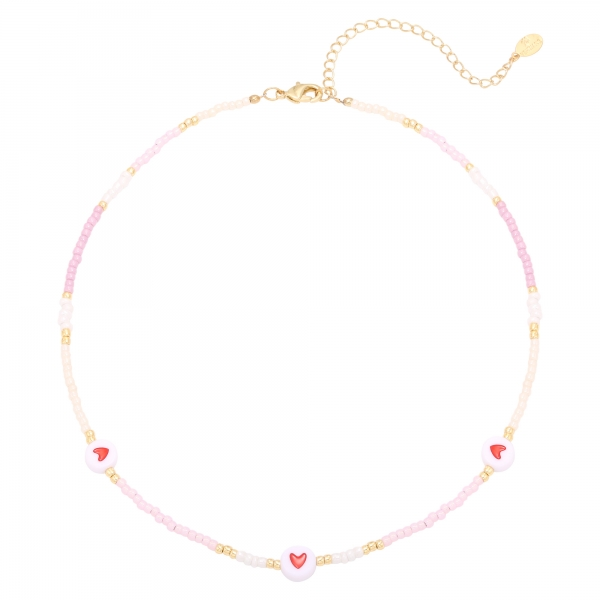 Collier heart colors