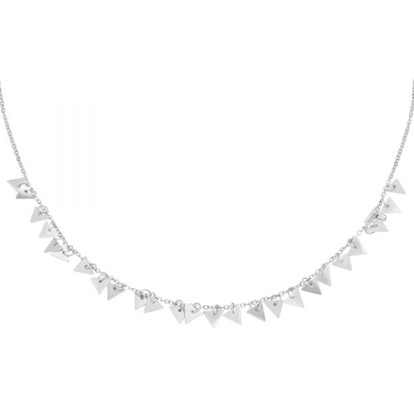 Collier Floating Triangles