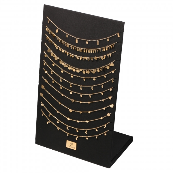 Display necklace  floating signs