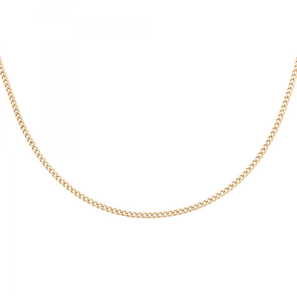 Necklace tiny plain chains