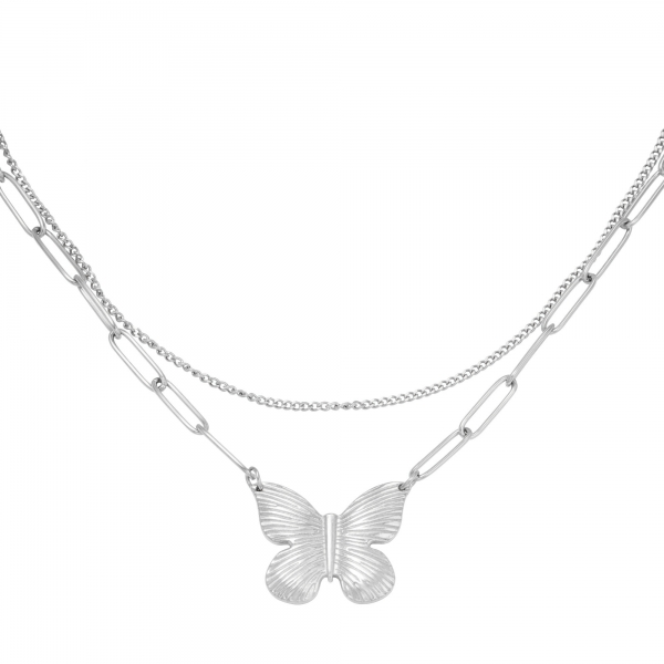 Necklace butterfly chain
