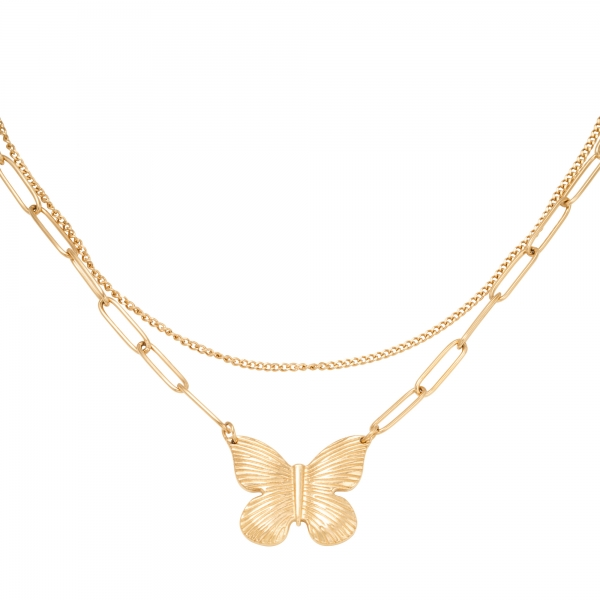 Ketting Butterfly Chain