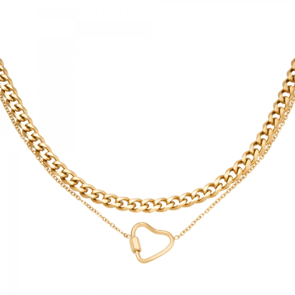 Collar Chained Heart