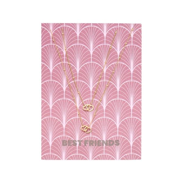 Necklace Card Best Friends