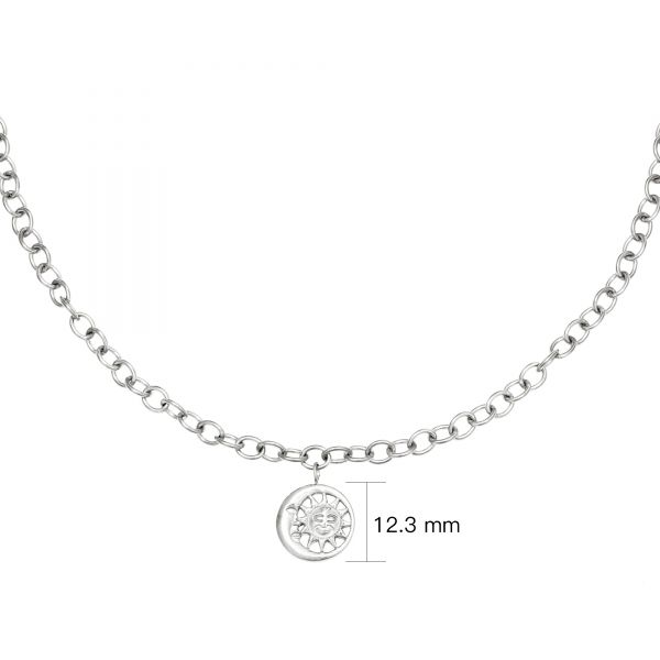Collier moonlight chain