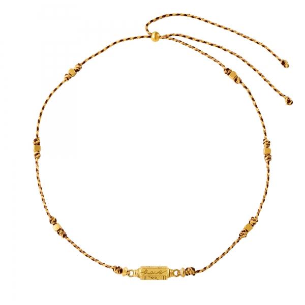 Perlenkette aus edelstahl