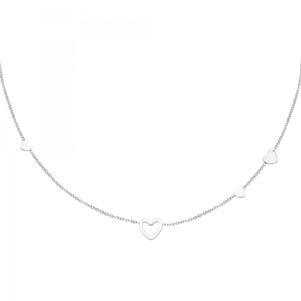 RVS ketting hart necklace