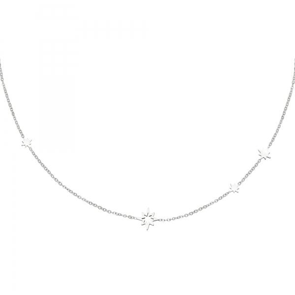 Halskette sterne aus edelstahl
