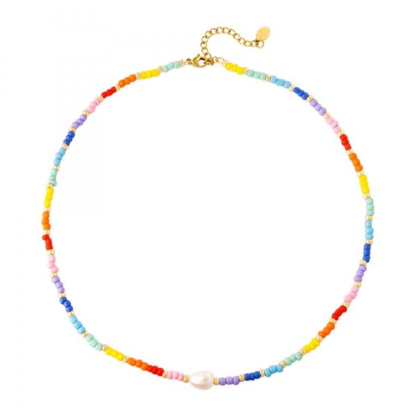Necklace rainbow colors