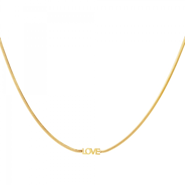 Necklace love letters