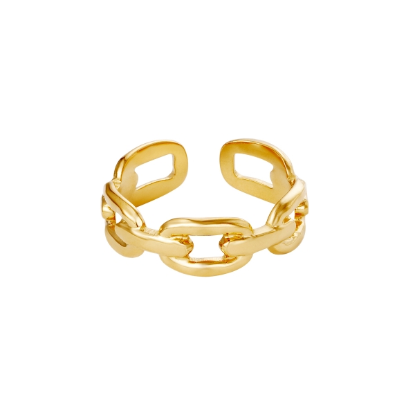 Ring Oval Chain