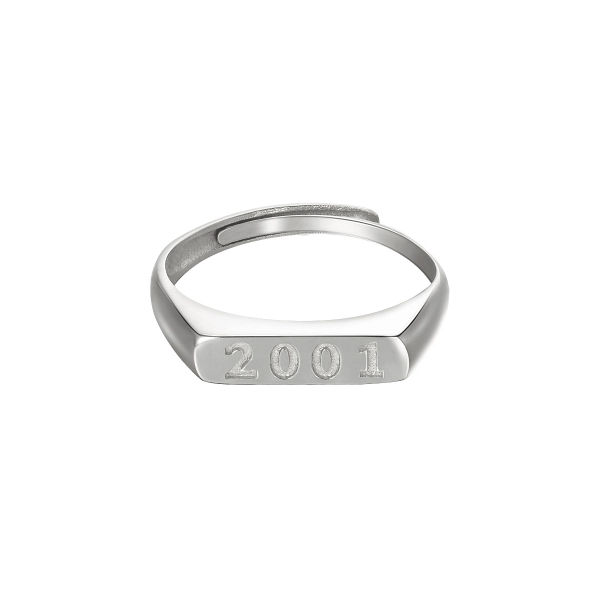 Bague Year Of Birth - 2001