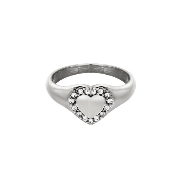 Bague diamond heart