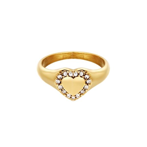 Bague Diamond Heart