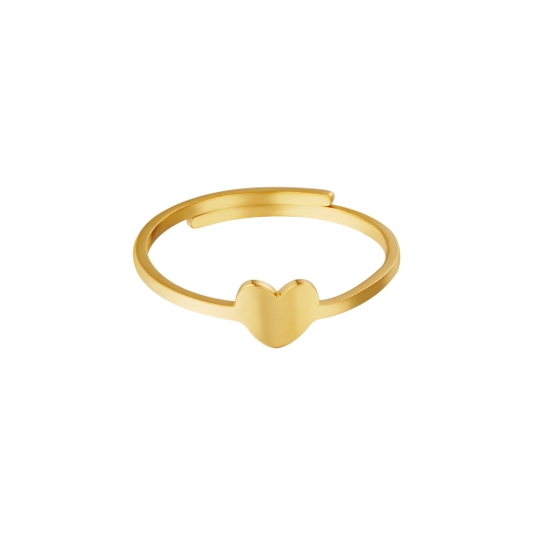 Adjustable ring heart