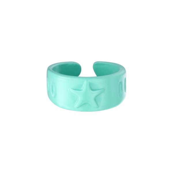 Estrellas de anillo de caramelo