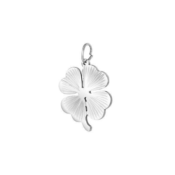 Stainless steel DIY charm clover