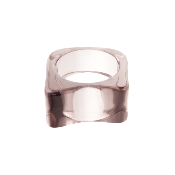 Poly resin ring square