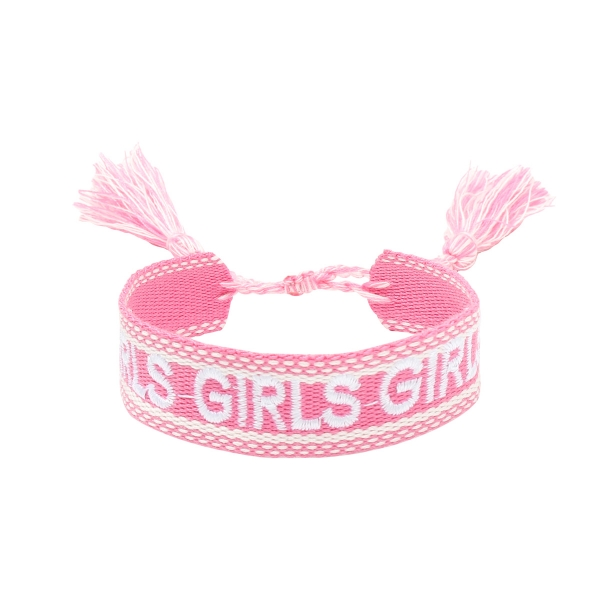 Pulsera braided girls