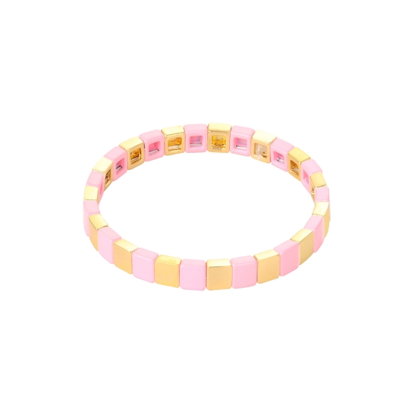 Pulsera colored bricks