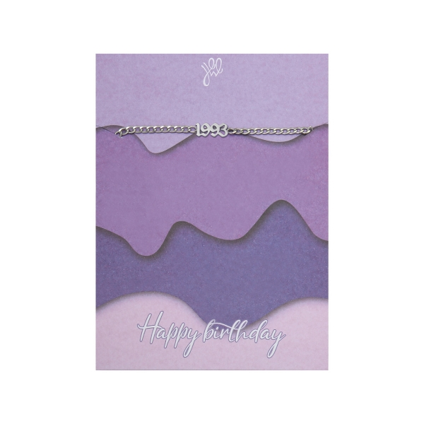 Bracelet Happy Birthday Years - 1993