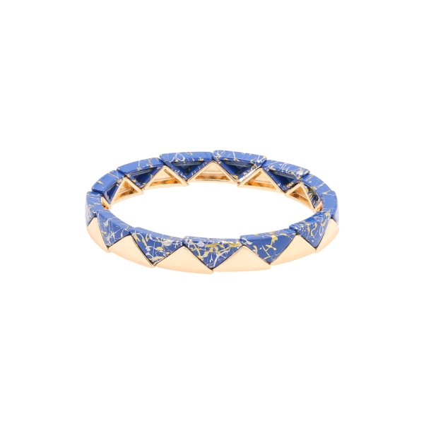 Bracelet marble triangle