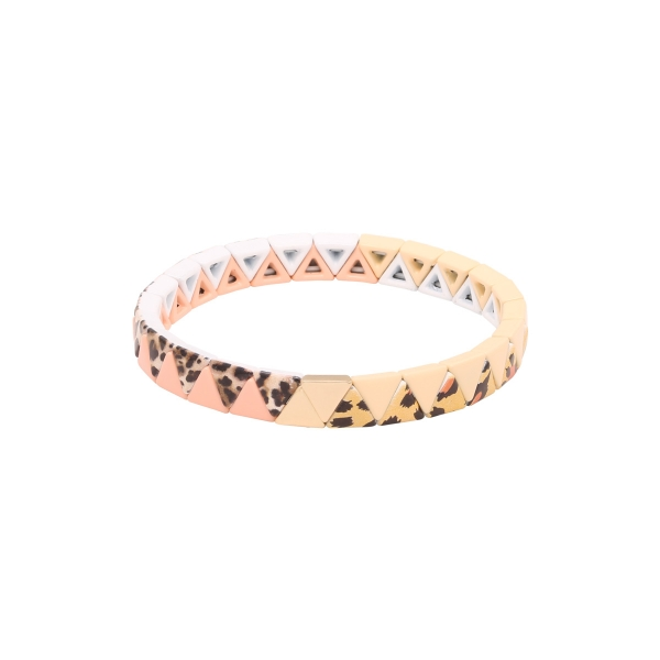 Bracelet pink panther triangle