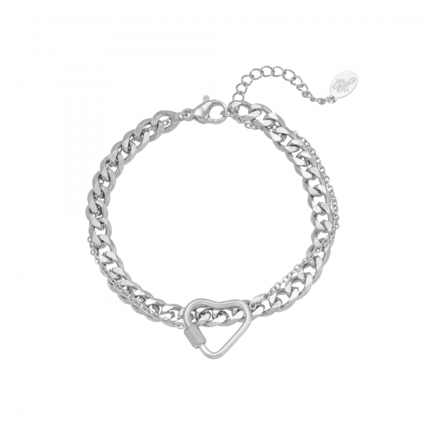Armband Chained Heart
