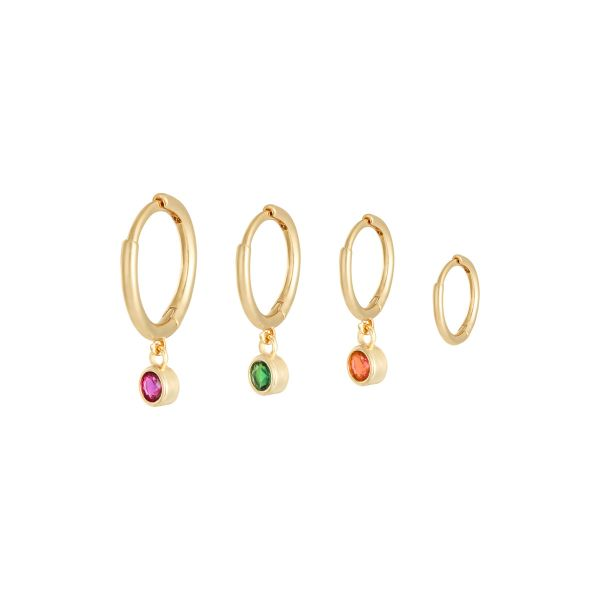 Boucles d'oreilles Shine On