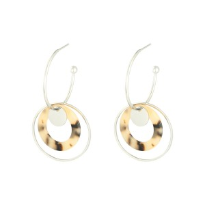 Earrings Circled Up