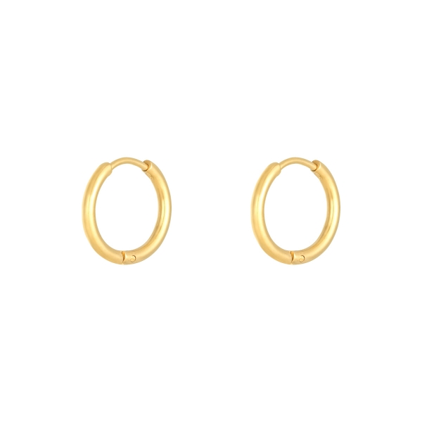 Boucles d'oreilles little hoops 1,6cm