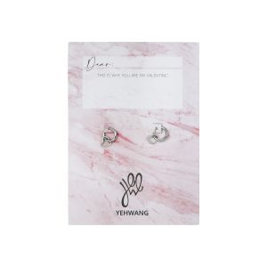 Boucles d'oreilles Love Open Heart