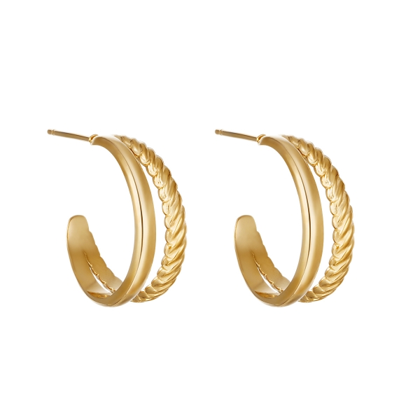 Boucles d'oreilles sophisticated