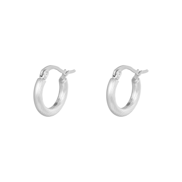 Oorbellen Hoops Twisted 15 mm