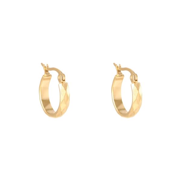 Ohrringe creole diamond