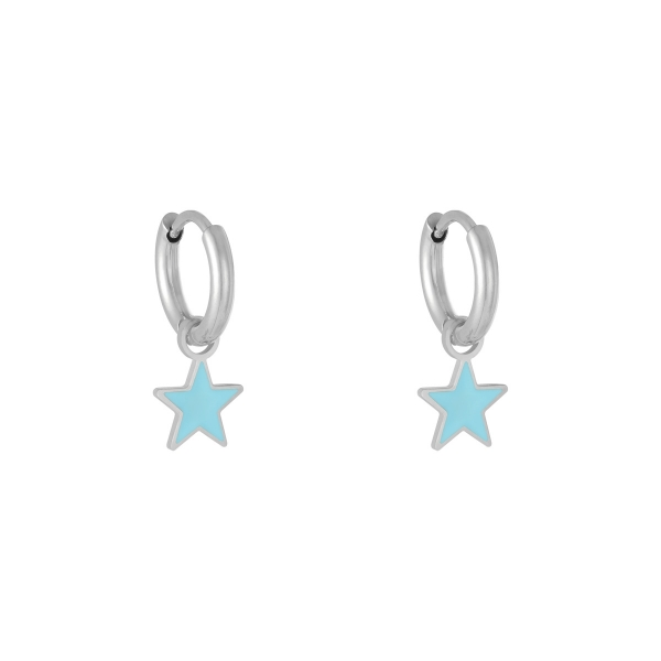 Earrings Pastel Star