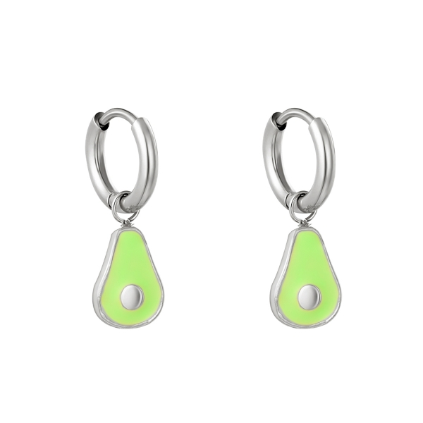 Boucles d'oreilles little avocado
