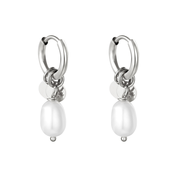 Earrings pearl drops
