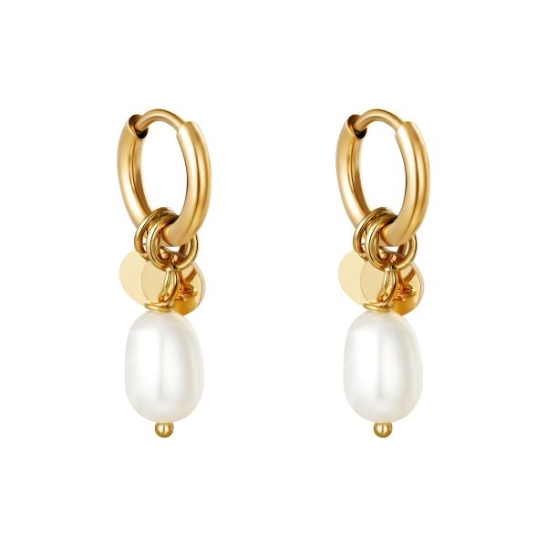 Boucles d'oreilles Pearl Drops